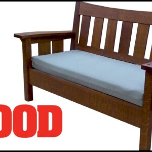 Building an Arts & Crafts Settee - WOOD magazine