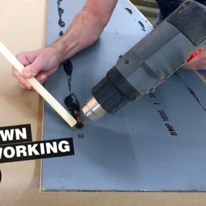 Ever heard of a steering wheel desk? And prepping the dressing mirror. | LOCKDOWN WOODWORKING 2.0
