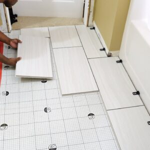 "How To Install QuicTile ""EASY DIY Porcelain Tiles""  