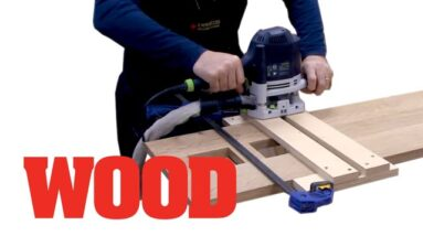 How To Make A Dado Routing Jig - WOOD magazine