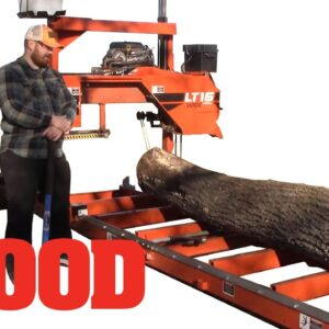 How To Mill A Crooked Log Into Lumber - WOOD magazine