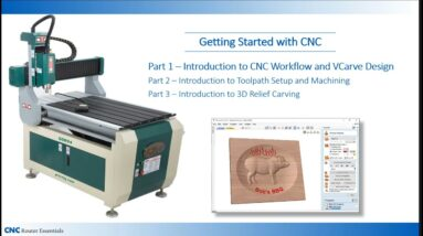 Getting Started with CNC Part 1: Workflow and Simple Design