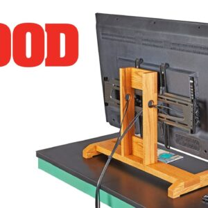 How To Make A TV Stand - WOOD magazine
