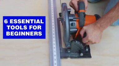 Must-have woodworking tools for beginners. 2021  #shorts