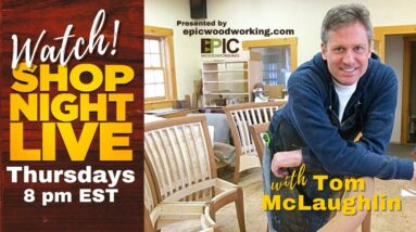 Shop Night Live with Tom McLaughlin