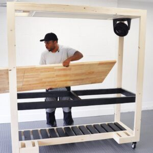 Building a WORKBENCH (with a built-in work light)
